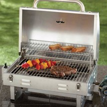 Outdoor Smoke Hollow Stainless Steel Tailgate Portable BBQ Propane Gas G... - £85.78 GBP