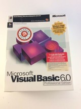 Microsoft Visual Basic 6.0 Professional Full Version Studio Plus Pack 6.... - $143.54