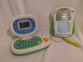Two LeapFrog Interactive Learning Toys - My Own Laptop / Scribble & Write - $7.99