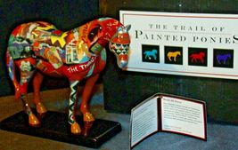 The Trail Of Painted Ponies #1460 Route 66 Westland Giftware AA-192000 Collecti image 4