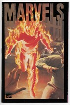 1994 Marvels Book One A Time of Marvels Kurt Busiek Alex Ross Marvel Com... - $5.94