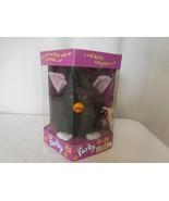 1998 Furby 70-800 Black Pink ears In Original Box Vintage  - $57.44
