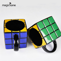 magichome Creative Tetris Cube Cup Ceramic Coffee Mug 1pcs - $35.95