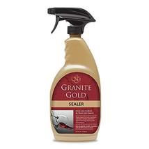 Granite Gold Sealer Spray Water-Based Sealing to Preserve and Protect Granite, M