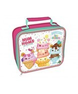 Back To School Lunch Bag Girls Insulated Lunch Box Easy Open Zip Num Nom... - £15.93 GBP