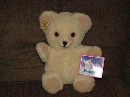 RUSS SNUGGLE TEDDY BEAR STUFFED PLUSH FULLY BODY HAND PUPPET NEW NWT 1986 - $39.59