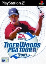 Tiger Woods PGA Tour 2001 PS2 (Playstation 2) - Free Postage - UK Seller - $4.93