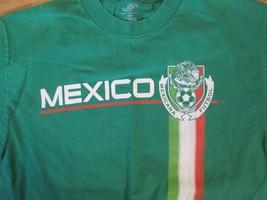 Mexico Mexicana Futbol T Shirt Size S - $1.99