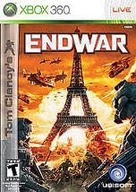 Tom Clancy's EndWar (Microsoft Xbox 360, 2008)M - $3.82