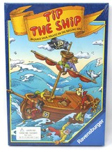 Ravensburger Tip The Ship Balance  Pirates Game  New Sealed  1995  Vinta... - $39.97