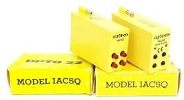 LOT OF 2 NIB OPTO 22 MODEL IAC5Q I/O MODULES IAC-5Q image 1