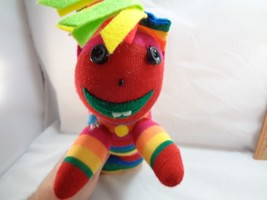"Sock Monkey Type Reggae Worm Plush Stuffed Animal Toy Doll 15"" - $13.36"