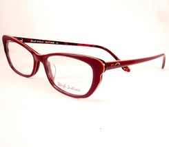 Rough Justice Eyeglasses Flame Red Women New 52-16-140 - $89.09