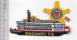 US Secret Service USSS Ohio Cincinnati Field Office Agent Service Patch  - $12.99