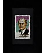 Tchotchke Stamp Art - History of Flight - Orville Wright - $8.99