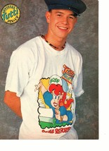 Marky Mark Wahlberg teen magazine pinup clipping  90's Tutti Frutti t-shit on