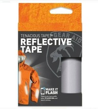 """Gear Aid Tenacious Tape 3"""" x 20"""" No-Sew Peel and Stick Reflective Tape - $7.00"""