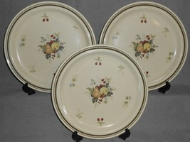 1970s-80s Set (3) Royal Doulton CORNWALL PATTERN Dinner Plates MADE IN E... - $89.09