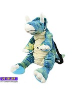 """20"""" BLUE TRICERATOPS BACKPACK - $29.69"""