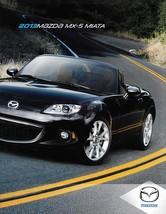 2013 Mazda MX-5 MIATA sales brochure catalog 13 US PRHT Club - $10.00