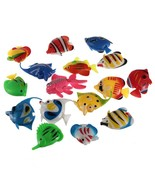 6PCS Artificial Plastic Bubble Lamp Tropical Fish Jellyfish Seahorse Fis... - $3.35