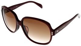 Giorgio Armani Sunglasses Women GA844 ARU Square Burgundy  - $177.21
