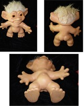 Troll Vintage Doll Large nude 11 inches 1964 Dam Things Establishment - $64.99