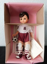 "Brunette  SOCCER BOY  8"" Doll  Madame Alexander Sports Collection - $18.81"