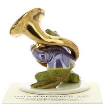 Hagen-Renaker Miniature Ceramic Frog Figurine Toadally Brass Band Tuba Player image 3