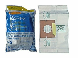 1 X Hoover Type S Envirocare Brand Allergen Microlined Vacuum Bags - 9 in a pack - $10.17