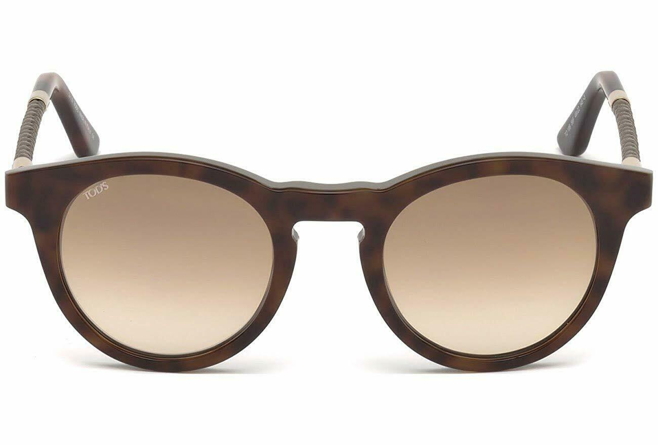 New Tod's TO 188 Sunglasses 56F Havana w/Brown Gradient 49-22-145MM