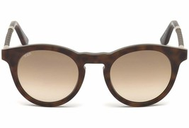 New Tod's TO 188 Sunglasses 56F Havana w/Brown Gradient 49-22-145MM - $113.85