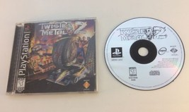 Twisted Metal 2 PS1 Playstation 1 Complete FREE SHIPPING - $22.76