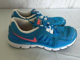Nike Dual Fusion ST 2 Women's Running Shoes Sz 9.5 Blue Glow 454240-402 - $16.83