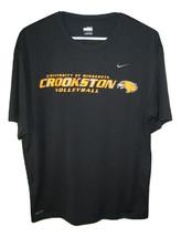Nike University of Minnesota Crookston Volleyball Eagle Dry Fit T Shirt ... - $9.89