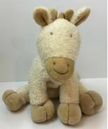 "Luckson Cream Tan Baby Horse 10"" Soft Plush Stuffed Animal Toy Lovey - $14.80"