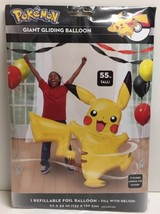 """(New) Pokemon Party Giant Gliding Balloon 55"""" Tall - $14.35"""