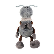 NICI Ant Giant Gray Stuffed Animal Plush Toy Dangling 20 inches 50 cm - $48.00