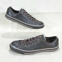 Converse All Star European Ox Leather Low Sneakers Mens 11 Espresso Brow... - $36.45