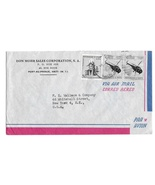 Haiti Air Mail Cover Port au Prince to US Sc# C95 Postal Tax Stamps RA23 - £3.91 GBP