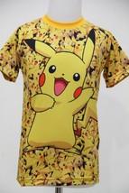 Pokemon Pikachu Kid Fullprint Tee T-SHIRT - $19.70