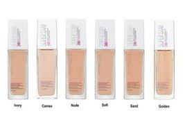 MAYBELLINE Superstay Foundation 24h FULL Coverage Smoothes Skin 30 ml - $14.91