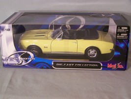 1967 Chevrolet Camaro RS S/S 396 1:18 scale diecast Maisto Special Edition - $38.22