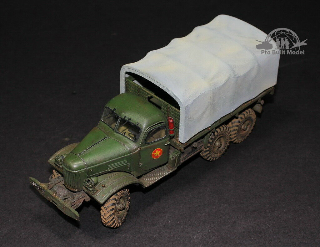 Primary image for NVA Zil-157 6x6 Truck Vietnam war 1:35 Pro Built Model