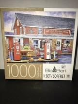 Jigsaw Puzzle MILTON BRADLEY The Old Village Store Hardware 1000 Piece - $14.52
