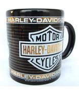 Harley Davidson coffee mug vtg 1987 Duo Glide - $34.60