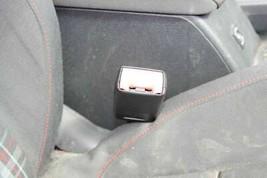 Seat Belt Buckle Passenger Right Front 2010-2014 Golf GTI 4 Door Black ZE - $62.37