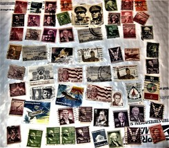 U. S. Stamps - Lot of 60 US Stamps - $4.90