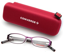 NEW CONVERSE A061 PURPLE EYEGLASSES GLASSES FRAME 46-16-130mm - $39.19