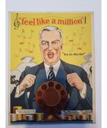 1928 Sheet Music ~ Feel Like A Million ~ Nature's Remedy Advertisement o... - $12.65